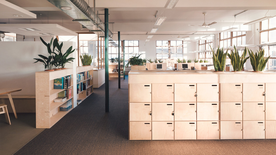 Greenpeace's offices kitted out with Opendesk furniture