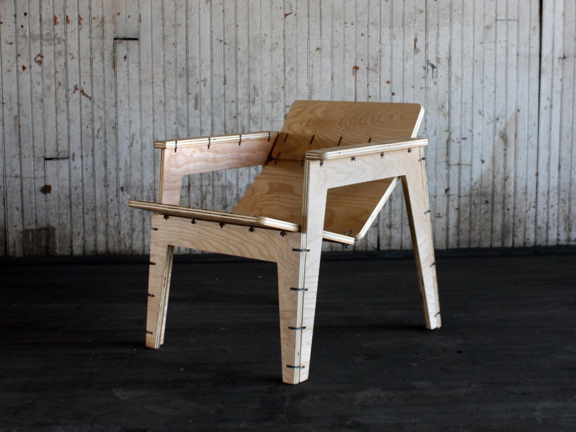 The Zip-tie Lounge Chair
