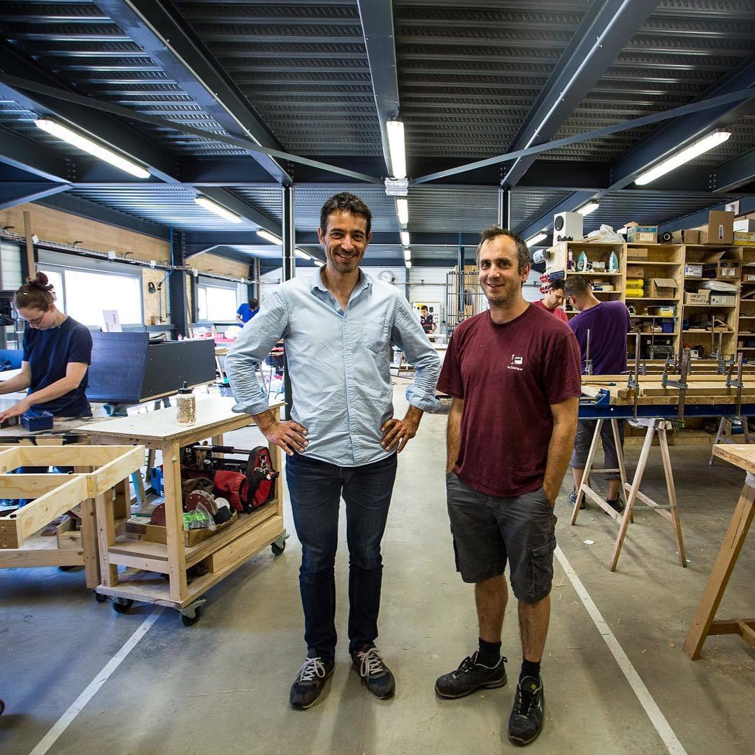 opendesk meet the makers fabrice nicolas in lyon. Black Bedroom Furniture Sets. Home Design Ideas