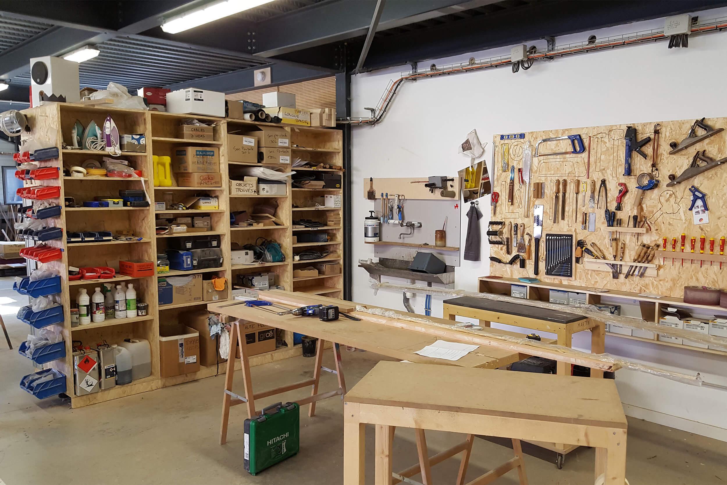 La Fabrique's workshop