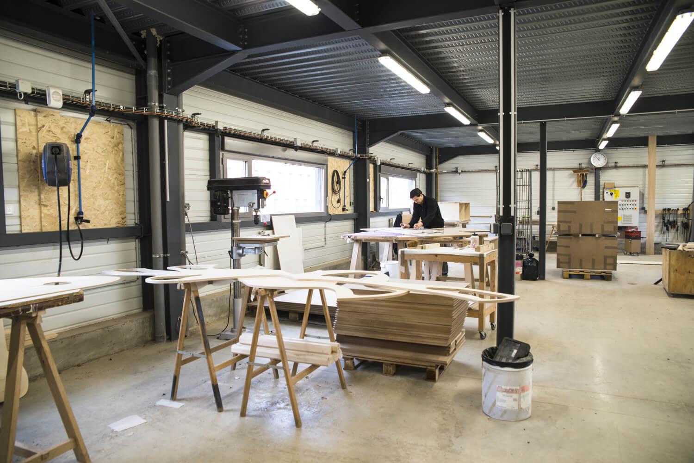 The La Fabrique's workshop