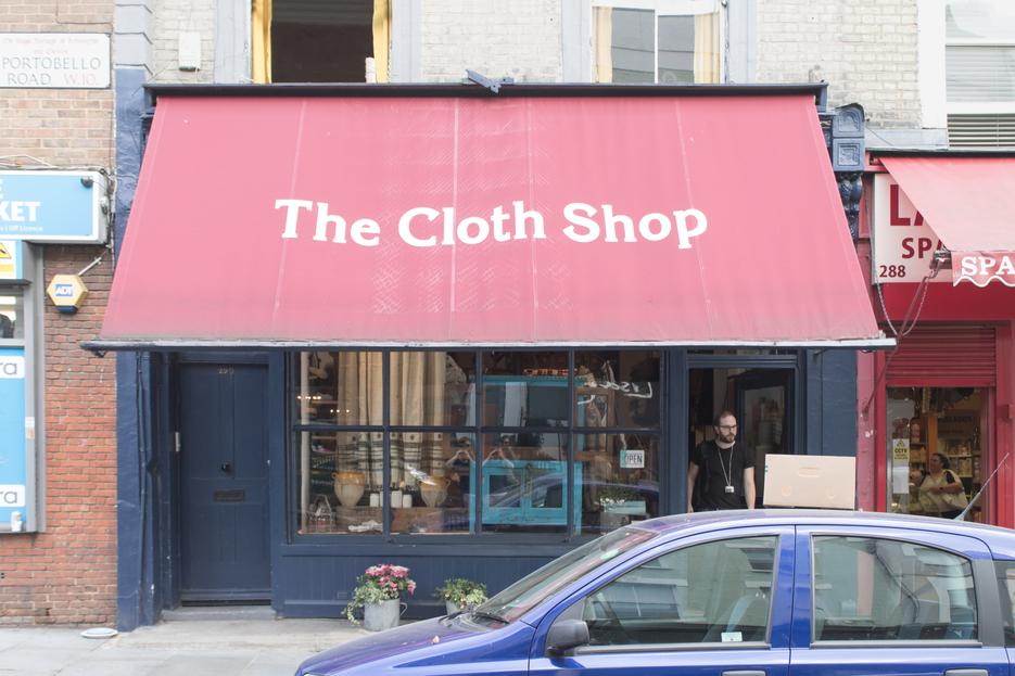 The Cloth Shop exteriour