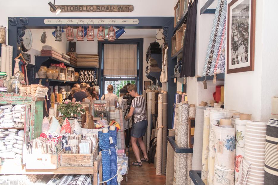 The Cloth Shop interiour