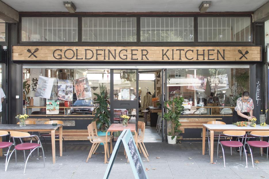 Goldfinger Factory exteriour