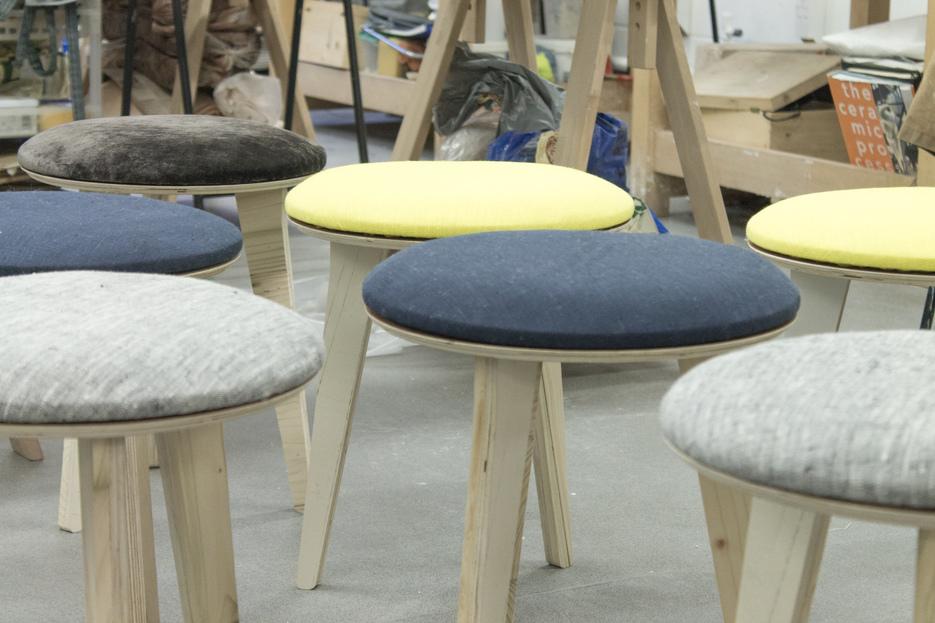 Set of Edie stools