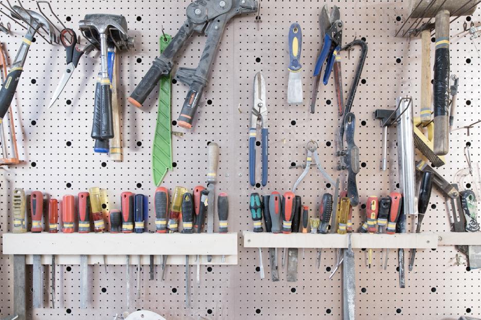 Machines Room's tools