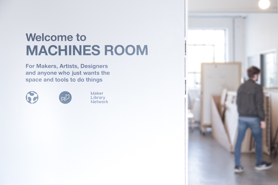 The entrance to Machines Room