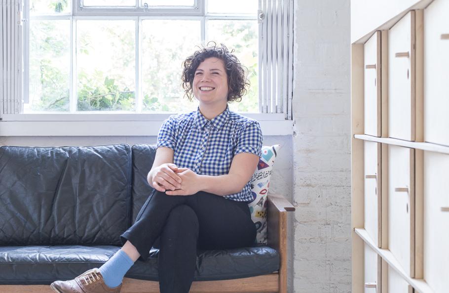 Designer Scarlett San Martin from Opendesk