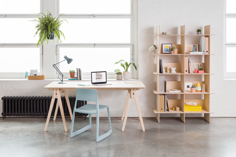 The Linnea Bookshelf with The Bundle Desk
