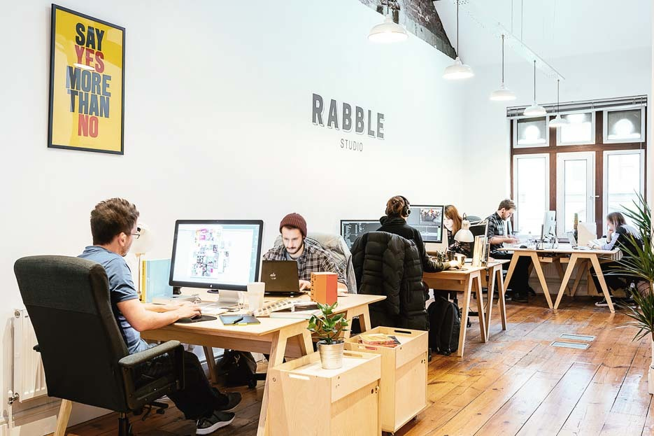 Rabble Studio space
