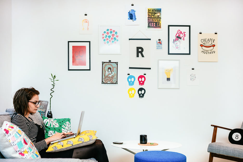 Rabble Studio breakout area