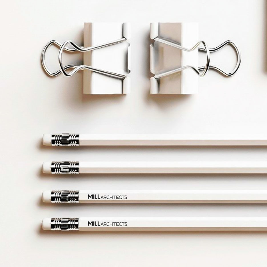 Mill Architects stationary