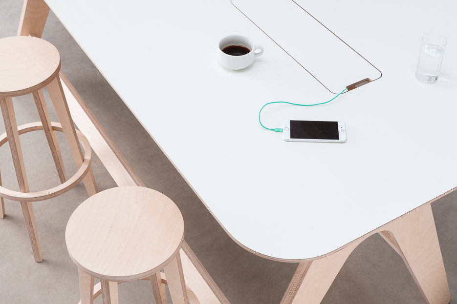 Opendesk Design Revamp The Breakout Table - Stand up meeting table