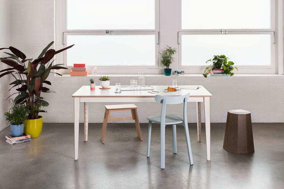 Unit Table by David Steiner with Johann Stool and Vitra APC
