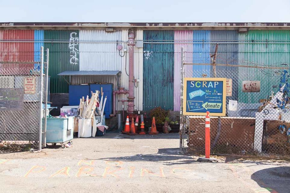 Bay View industrial area, Bay View, San Francisco