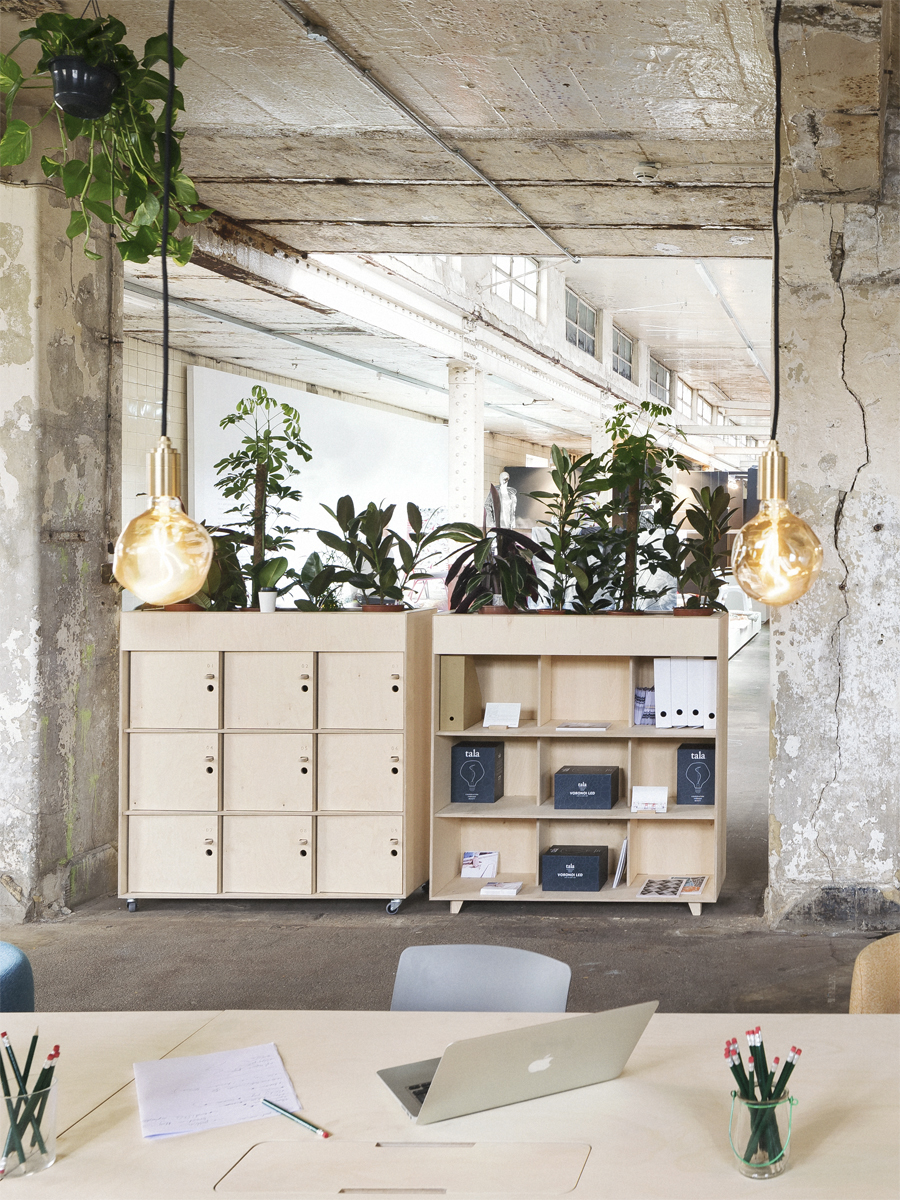 Fin Planter Locker and Fin Planter Bookshelf at London Design Festival