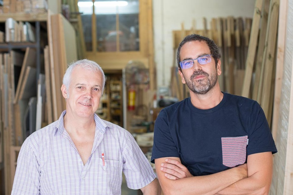 Sergi Beltran Bel with Jose Pacheco