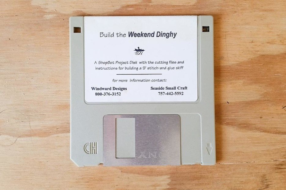 Sharing files on floppy disks