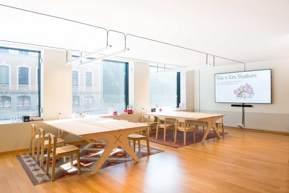Opendesk - The Concept Space+ for Students by UBS