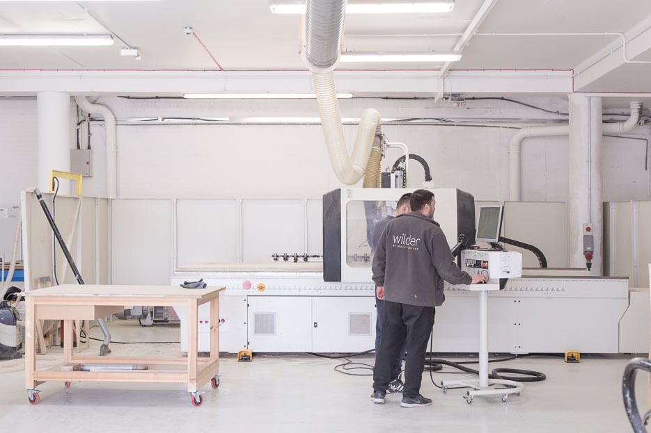Image of Wilder Creative's CNC milling machine